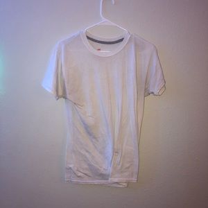 White hanes shirt